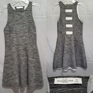 Abercrombie & Fitch Grey Skater Mini Dress